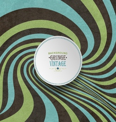 Vintage striped distorted background vector