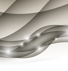 Modern wave folder light abstract design vector