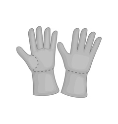 Construction work gloves icon vector image