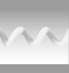Spiral color white on the gray background vector