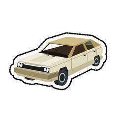Vintage car icon image vector