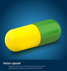 capsule vector image