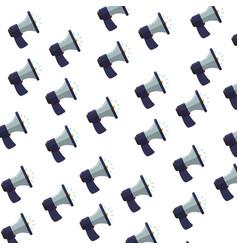 bullhorn advertising symbol vector image