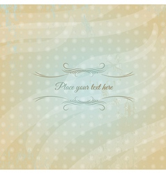 modern background with polca dot vector image vector image