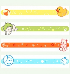 pregnancy tickers vector image