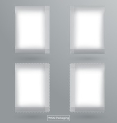 White packaging vector