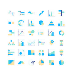huge infographics elements designers set vector image