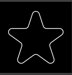 star it is icon vector image vector image