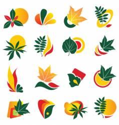 logo elements vector image