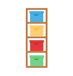 Baby changing table vector