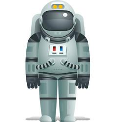 Cosmonaut Realistic 3d Astronaut isolated Spaceman vector image vector image