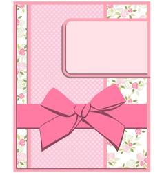 flower card set vector image