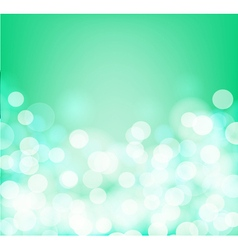 green and aqua background vector image vector image