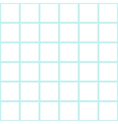 Mint white grid chess board background vector