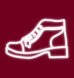 the image of the shoe vector image vector image