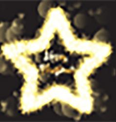 Christmas sparkle star 1410 vector