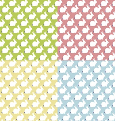 Seamles patterns with bunny vector