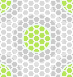 Abstract technology green seamless pattern vector