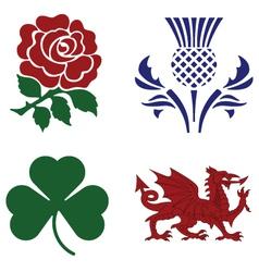 National emblems vector