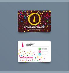 Tie sign icon business clothes symbol vector