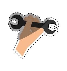 Construction tool equipment vector