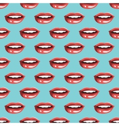 Cosmetics and makeup seamless pattern vector