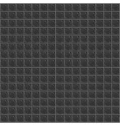 Black Pattern Tetrahedral Mosaic vector image