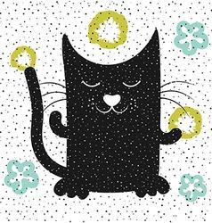 Cat7 vector image vector image