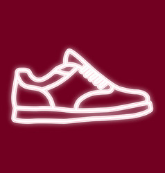 image of sneakers vector image vector image