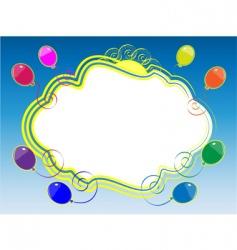 sky framework vector image vector image