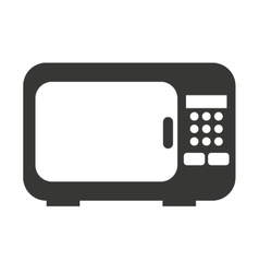 Oven microwave isolated icon design vector