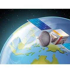 A satelitte vector