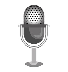 Radio microphone isolated icon design vector image