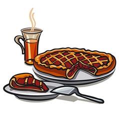 sweet pie vector image vector image