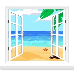 view from window vector image