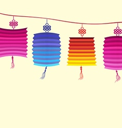 About traditional festival lanterns vector