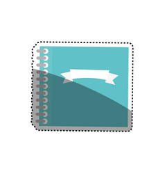 Note paper isolated vector