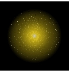 Star shining yellow vector