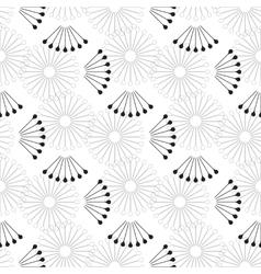 Beautiful thin line ornamental frame vector image
