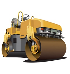 Detailed ial image of light-brown double roller is vector
