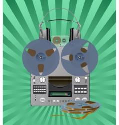 Recording equipment vector