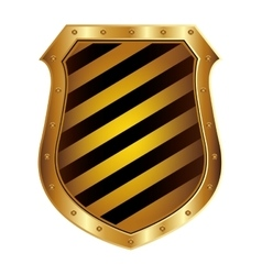 Security shield protection vector image