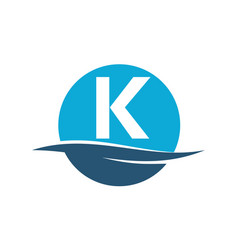 Wave water initial k vector
