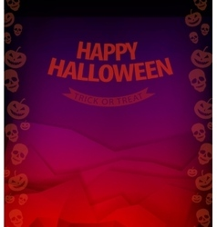 Halloween background horror vector