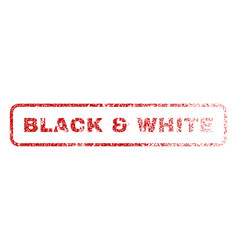 Black white rubber stamp vector