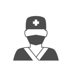 Doctor avatar icon vector image vector image