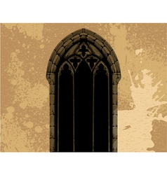 grunge gothic vector image vector image