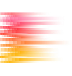 Red speed pixel abstract background vector