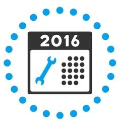 2016 service plan icon vector