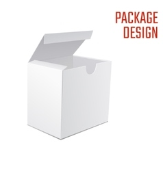 White box mock up 1 vector